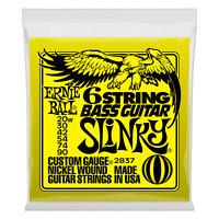 Ernie Ball 6-string 2837 Slinky Nickel Wound Short Scale Bass Set .020w-.090