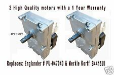 ENGLANDER PELLET STOVE AUGER MOTOR    [XP7100]  TWO PACK   PU-047040  VERY QUIET