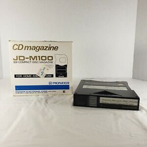 Pioneer Electronic JD-M100 6 Disc Compact Magazine Audio CD Changer Music Car