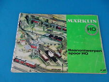 Marklin 0357 Baanontwerpen Spoor HO NL
