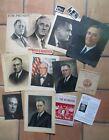 Lot of President Franklin D Roosevelt Items Mostly Vintage 1930s-40s