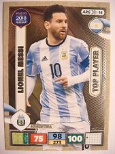 ARG14 LIONEL MESSI Top Player Road To 2018 World Cup Panini Adrenalyn XL Cards