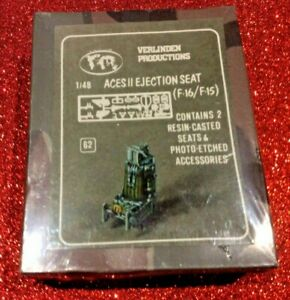 verlinden #62 1/48 ACES II EJECTION SEAT F15/F16