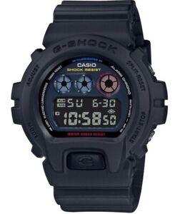 Casio G-Shock * DW6900BMC-1 Digital Tokyo Street Scene Black Resin Watch