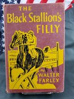 The Black Stallion's Filly By Walter Farley 1952 Hardcover 1st Printing Ex Lib