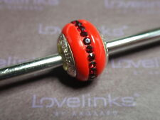 ** Genuine Lovelinks  SPARKLING SIAM RED CRYSTAL Charm RRP £45 **