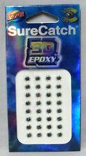 Surecatch 3D Epoxy 6mm Lazer Lure Eyes