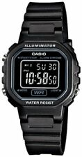Casio Women's Black Chronograph Alarm LCD Digital Watch LA20WH-1B