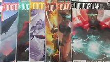 Alternative Comic lot Doctor Solar dark horse 1-8 nm bagged and boarded