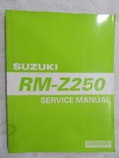 Suzuki Used RM-Z250 2004-2006 Factory Shop Manuel 99500-42180-01E