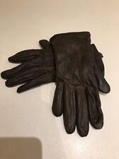 Brown Ladies Leather Gloves John Lewis S/m