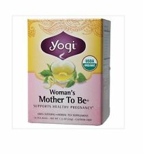 3 x 16 bags YOGI TEA Woman's Mother To Be Herbal Tea Bags (Total: 48)