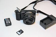 Sony Alpha NEX-3N 16.1MP Digital Camera with 16-50mm Lens Black