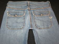 Diesel Jeans Womens Wide Leg Nadar  Flap Pockets 82x  Sz 26