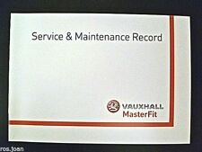 Vauxhall Frontera Service Book History Record Book Brand Genuine No Stamps