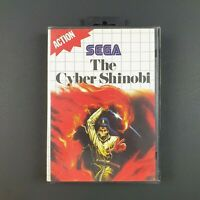 The Cyber Shinobi | Sega Master System | Complete With Manual