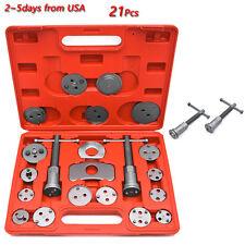 21X Caliper Tool Kit Case Wind Back Disc Brake Pad Piston Compressor Hand Tools