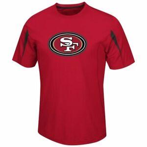 San Francisco 49ers Team Fanfare VIII Cool Base Performance T-shirt By Majestic