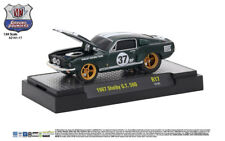 M2 Machines Ground Pounder Release 17 1967 Shelby GT 500 Ivy Green w/ White