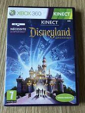 KINECT DISNEYLAND ADVENTURES XBOX 360 FRANÇAIS NEUF BLISTER NEW SEALED RARE