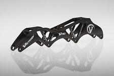 "VICTORY V-TEC FRAMES 4X110 13.2"" 195mm Inline Speed Skate Frame Black"