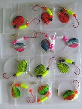 12 Spinner Floater Rigs Leech Minnow Crawler Harness Walleye, Bass, Pike