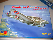 1/72 Scale RS Models Caudron C-445 Goeland  Vichy and Civil Service