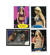 TOPPS WWE 4 SEXY KAITLYN WRESTLING CARDS BORN IN HOUSTON TEXAS 1 ROOKIE CARD