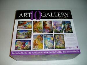 Josephine Wall 10 Jigsaw Puzzles Art Gallery Edition