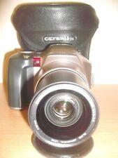 OLYMPUS IS-200 35MM FILM BRIDGE CAMERA~28-110MM ZOOM LENS~BUILT IN FLASH 13AG17