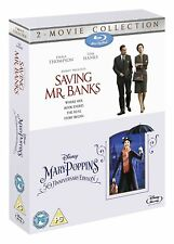 Saving Mr Banks & Mary Poppins 2-Movie Collection [Blu-ray Box Set, Region Free]