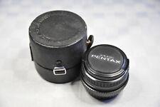obiettivo PENTAX SMC-M 28mm 2.8 2.8/28 con custodia