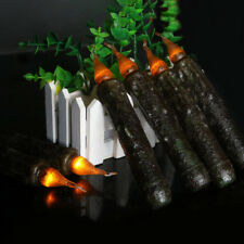 4x Battery-powered Flameless Led Candle Flickering Taper Decorative Candles