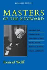 Masters of the Keyboard: Individual Style Elements in the Piano Music-ExLibrary