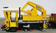 Playmobil 4053 Atlas work train - no box but nice