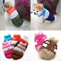 Waterproof Coat For Small Medium Large Pet Dog Winter Padded Vest Jacket Clothes