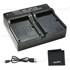 PTD-24 USB Dual Battery Charger For Canon BP-808, 809, 819, 827, 820, 828