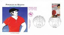 Enveloppe 1er Jour NAY 29/06/2007 le béret basque éd courbevoie timbrée