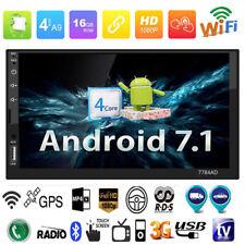 """7"""" 2Din 4G GPS BT Quad Core HD 1080P Android7.1 Voiture Lecteur Mp5 Stéréo Radio"""