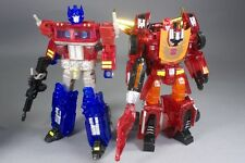 Transformers Optimus Prime & Rodimus Prime Clear ver. Sons Of Cybertron set MISB