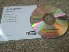Promo - The Blueskins - Magic Rd CD Single. 5 Track EP. 2003