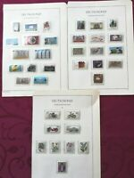 WEST GERMANY(BRD) 1983: 36 stamps+ 1 minisheet, all MNH** VF, 4 album pages