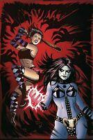Hack/Slash vs Chaos #4 DYNAMITE 1:30 Virgin Variant COVER G