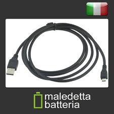Cavo [USB A maschio > Micro-USB B maschio] 1,8 metri nero - Android Samsung etc.
