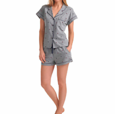 Tommy Hilfiger Ladies' 2-piece Short Set Gray Flag Logo S M L XL