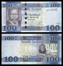 Sudan del Sur - South Sudan 100 South Sudanese Pounds 2017 Pick 15c SC = UNC