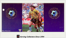 1994 Futera Australia Soccer Cards Best Of Both World BW2: Mike Peterson-RARE