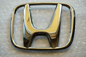 12-15 Honda Civic Sedan 4DR Front Rear Emblem Grille H Chrome Logo Coupe TR0-000