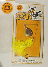 Vintage Bass Fishing Lure Sampo Bearing Swivels 1/4 oz. TWERL-E-BIRD