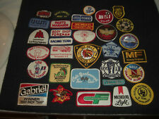 Company Advertising Vintage 1970-80's Patches Wholesale Lot of 32  Lot #2
